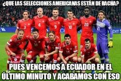 Enlace a Suiza acaba con la racha de las selecciones americanas en el Mundial