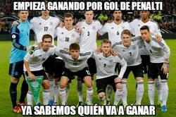 Enlace a Alemania empieza ganando con gol de penalti y ya sabemos quién ganará