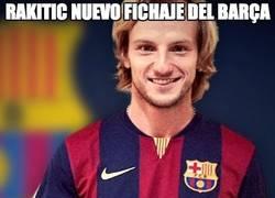 Enlace a Rakitic, nuevo fichaje del Barça