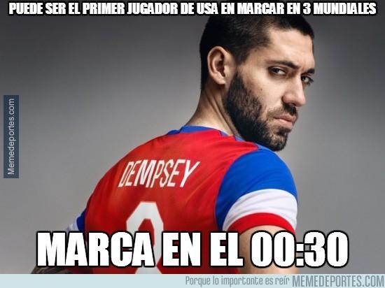 339297 - Dempsey tenía prisa en hacerse con el record