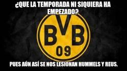 Enlace a Al Borussia no le dan descanso las lesiones