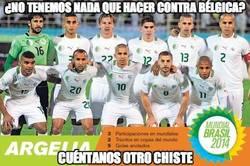 Enlace a Se adelanta Argelia de penalti