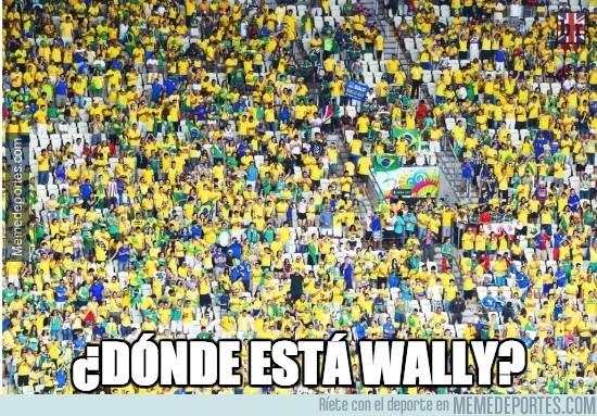 339975 - ¿Dónde está Wally? Impresionante la afición en Brasil