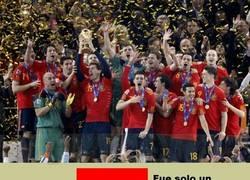 Enlace a España, todo fue un sueño