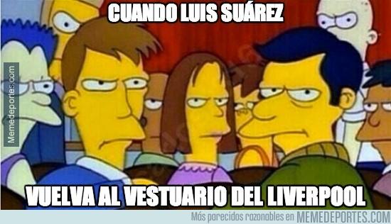 342491 - Cuando Luis Suárez vuelva al vestuario del Liverpool