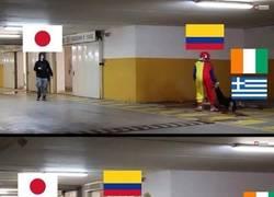 Enlace a El Grupo C. La verdad es que Colombia tenía un grupo facilísimo