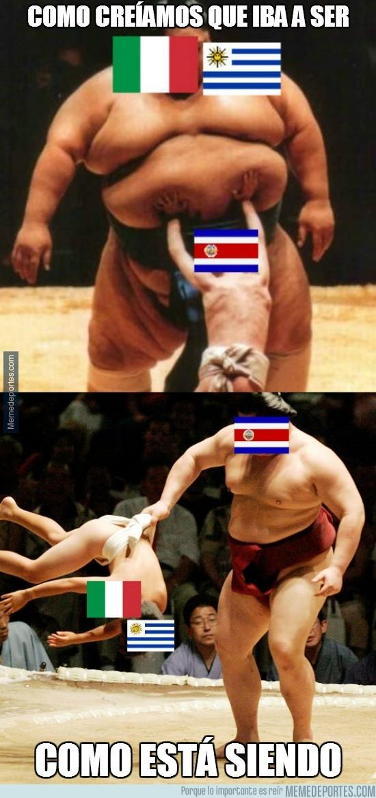 343133 - Como creíamos que iba a ser la actuación de Costa Rica