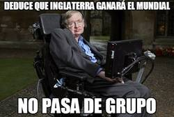 Enlace a Hawking, esto del fútbol no es lo tuyo