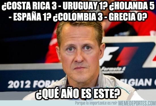 343474 - ¿Costa Rica 3 - Uruguay 1? ¿Holanda 5 - España 1? ¿Colombia 3 - Grecia 0?