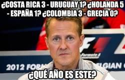 Enlace a ¿Costa Rica 3 - Uruguay 1? ¿Holanda 5 - España 1? ¿Colombia 3 - Grecia 0?
