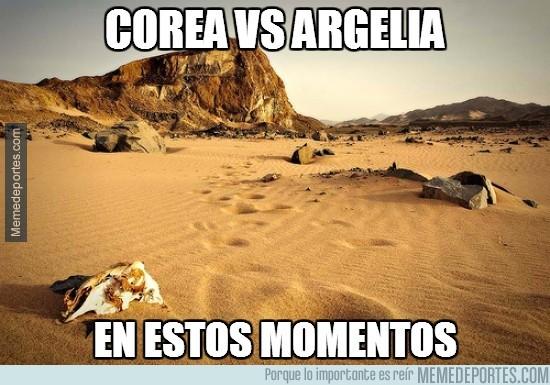 344992 - Corea vs Argelia, ¡partidazo!