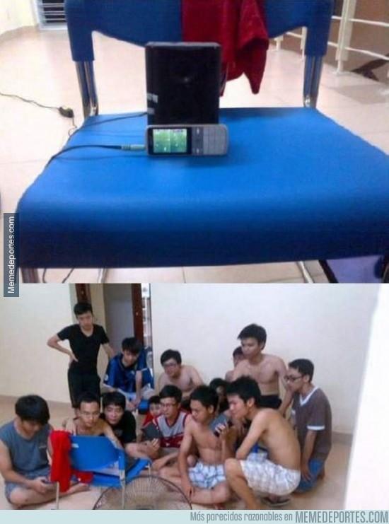 345052 - Así demuestran en Vietnam su amor por el fútbol