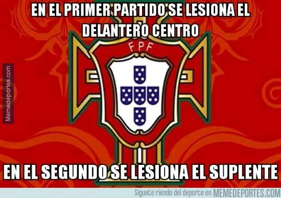 345164 - Mala suerte para Portugal. Primero Hugo Almeida y ahora Helder Postiga