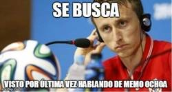 Enlace a ¿Alguien vio a Luka Modrić?