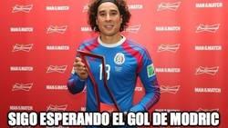 Enlace a Ochoa aún espera el gol de Modric