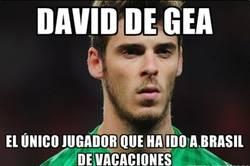 Enlace a De Gea, ¿qué tal por Brasil?