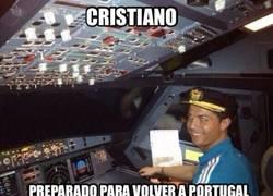 Enlace a Cristiano ya está preparado para volver a Portugal