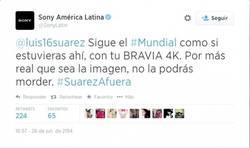 Enlace a Sony se suma a la moda de twittearle a Suárez