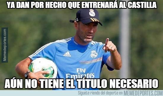 349237 - Ya dan por hecho que entrenará al Real Madrid Castilla