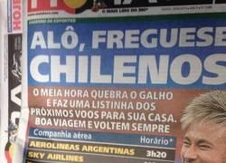 Enlace a Prensa brasileña publica los horarios de vuelta a casa de los aviones ¿Mensaje para Chile?