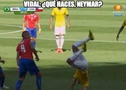 Enlace a ¿Qué haces Neymar?