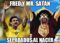 Enlace a Fred y Mr. Satán