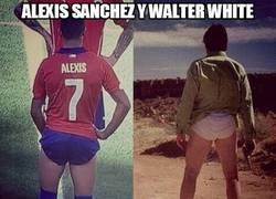 Enlace a Alexis Sánchez y Walter White