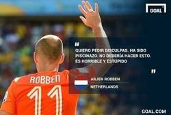 Enlace a A buenas horas ¿no, Robben?