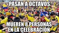 Enlace a La celebración de Colombia no es moco de pavo