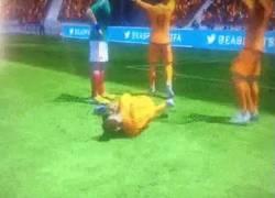 Enlace a GIF: Robben se tira hasta en el FIFA