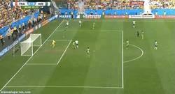 Enlace a GIF: Fue bonito mientras duró. Nigeria en propia puerta se hace el segundo
