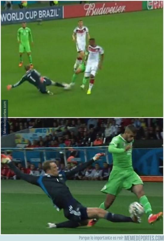351680 - Manuel Neuer, el mejor defensa del Alemania-Argelia