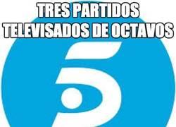 Enlace a Telecinco, tres de tres