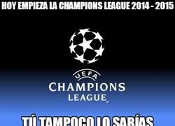 Enlace a Hoy empieza la Champions League 2014 - 2015