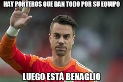 Enlace a ¡Qué partidazo se está haciendo Benaglio ante Argentina!