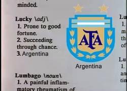 Enlace a No diga suerte, diga Argentina