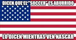 Enlace a Dicen que el Soccer es aburrido