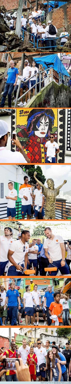 352710 - Holanda pasando por las favelas de Brasil