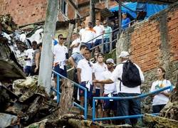 Enlace a Holanda pasando por las favelas de Brasil