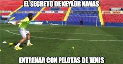 Enlace a Éste es el secreto mejor guardado de Keylor Navas