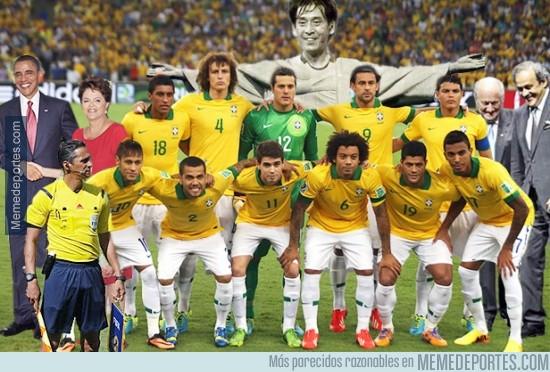353543 - Confirmada la alineación que sacará BRASIL ante COLOMBIA