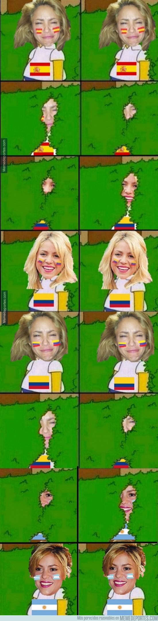 354519 - Shakira y sus constantes cambios de opinión