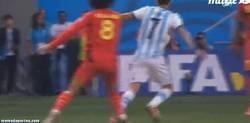 Enlace a GIF: La delicatessen de Di María vs Bélgica