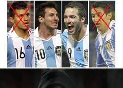 Enlace a Cuidado que alguien quiere cargarse a la delantera argentina