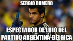 Enlace a Romero debe estar relajado en su portería