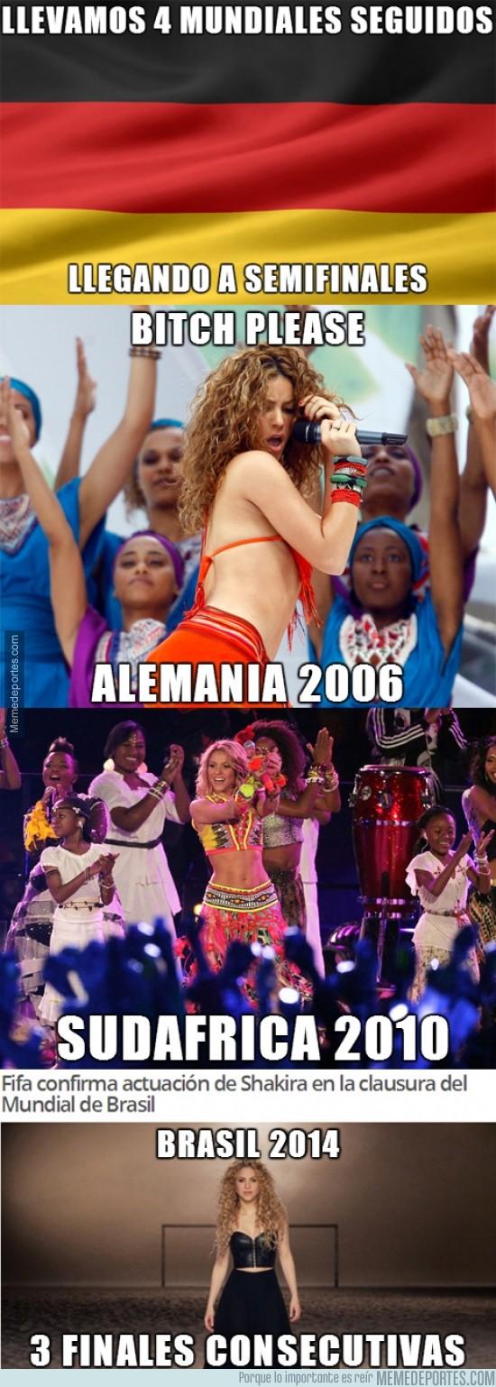 354850 - ¿Record de Alemania? ¿Y lo de Shakira qué?