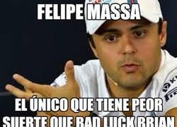 Enlace a Felipe bad luck Massa