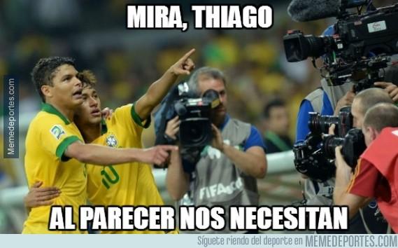 356414 - ¿Brasil necesita a Thiago Silva y Neymar?