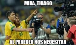 Enlace a ¿Brasil necesita a Thiago Silva y Neymar?
