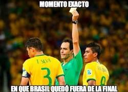 Enlace a Éste fue el momento exacto en que Brasil quedó fuera de la final